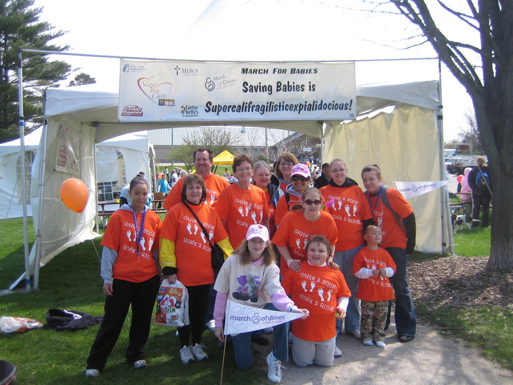 March For Babies 2008 T-Shirt Photo