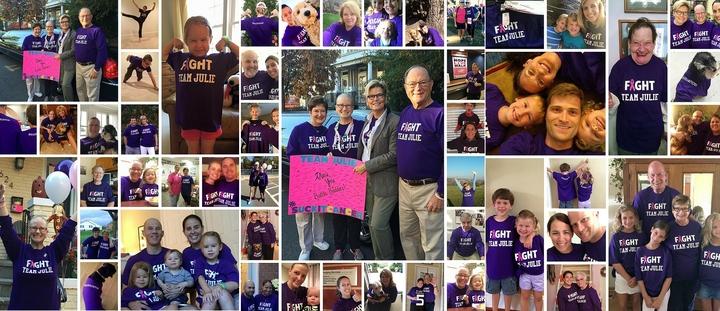 Team Julie #Suck It Cancer T-Shirt Photo