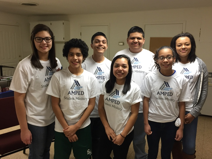 Amped Students T-Shirt Photo