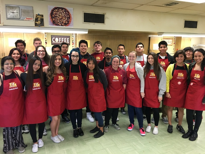 El Modena Culinary Arts Class T-Shirt Photo