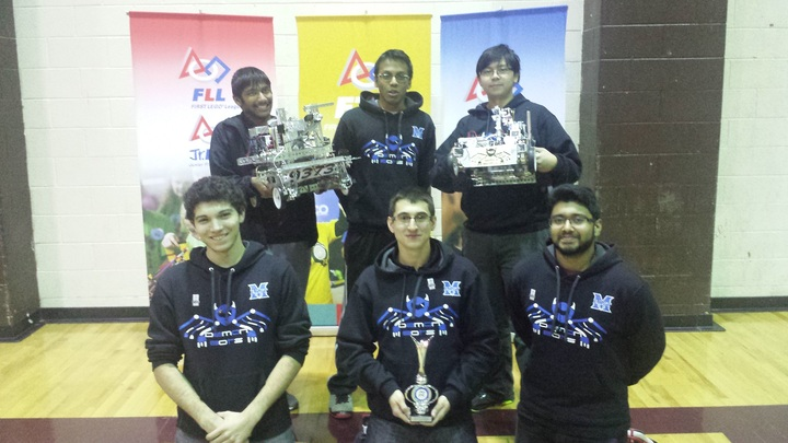 Winning A Robotics Design Award While Rocking Team Hoodies T-Shirt Photo