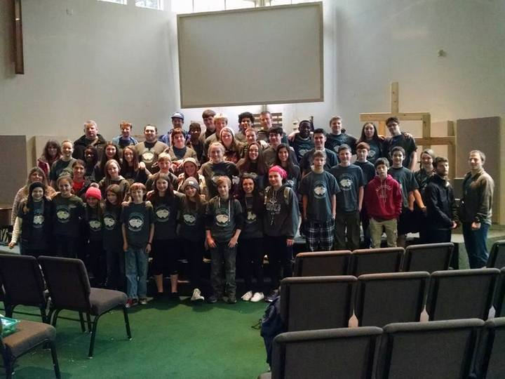 Cornerstone Winter Camp T-Shirt Photo