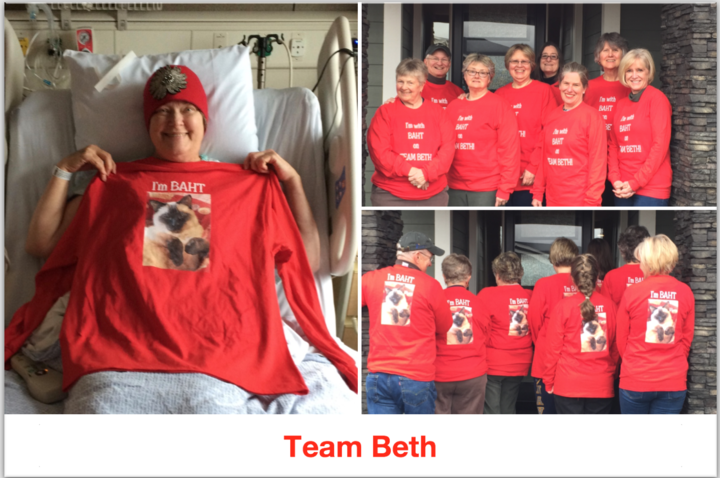 Team Beth T-Shirt Photo
