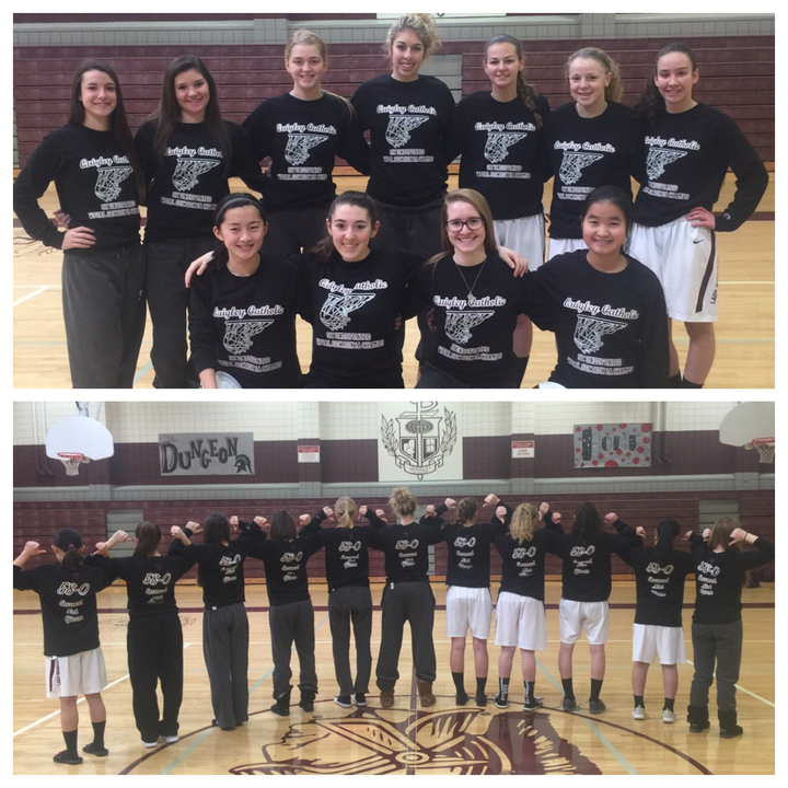 Quigley Catholic Lady Spartans   Onward And Upward   Looking Great In Custom Ink! T-Shirt Photo