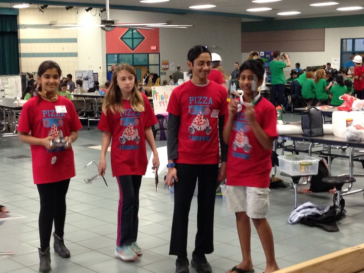 Pizza Troopers   Fll T-Shirt Photo