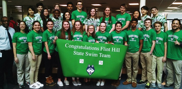 Fh State Swim Team 2016 T-Shirt Photo