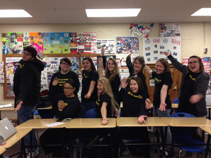 Block 1 Having Fun T-Shirt Photo
