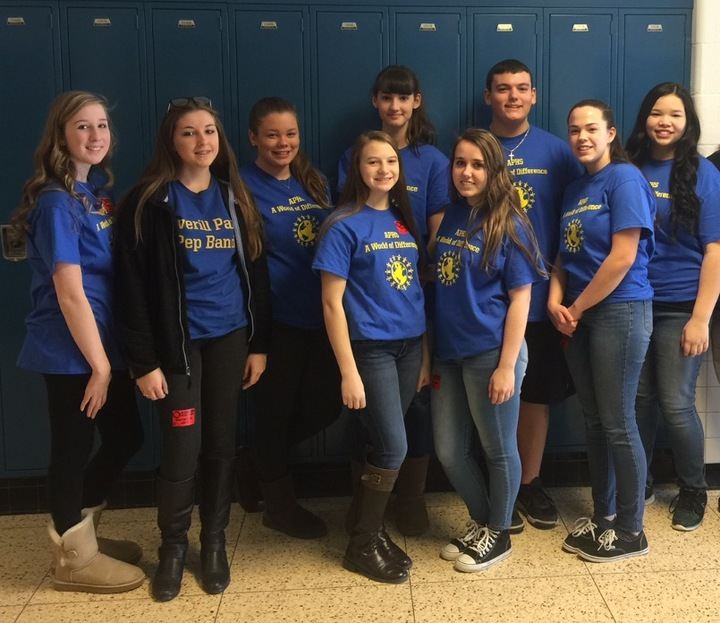 Averill Park High School   A World Of Difference Club T-Shirt Photo