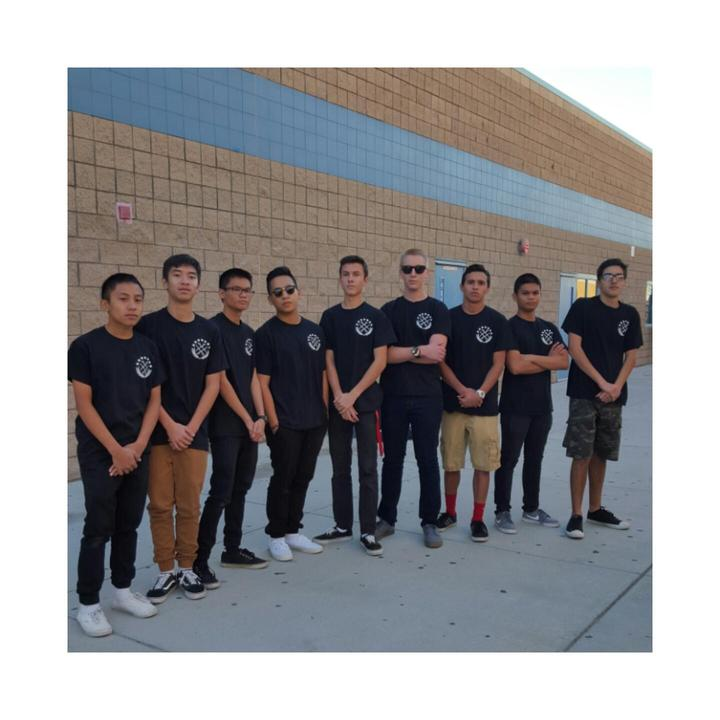 Great Oak High School Afjrotc Saber Squad T-Shirt Photo