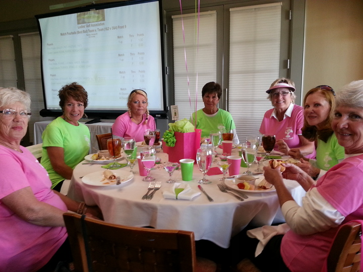 Pretty In Pink And Grand In Green  T-Shirt Photo