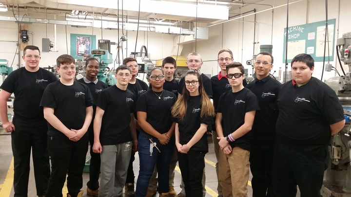 Mcti Am Precision Machining Students T-Shirt Photo