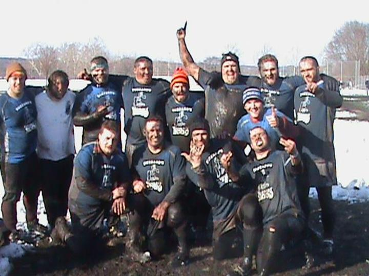 Buzzards Win Snowball Rugby Tournament T-Shirt Photo