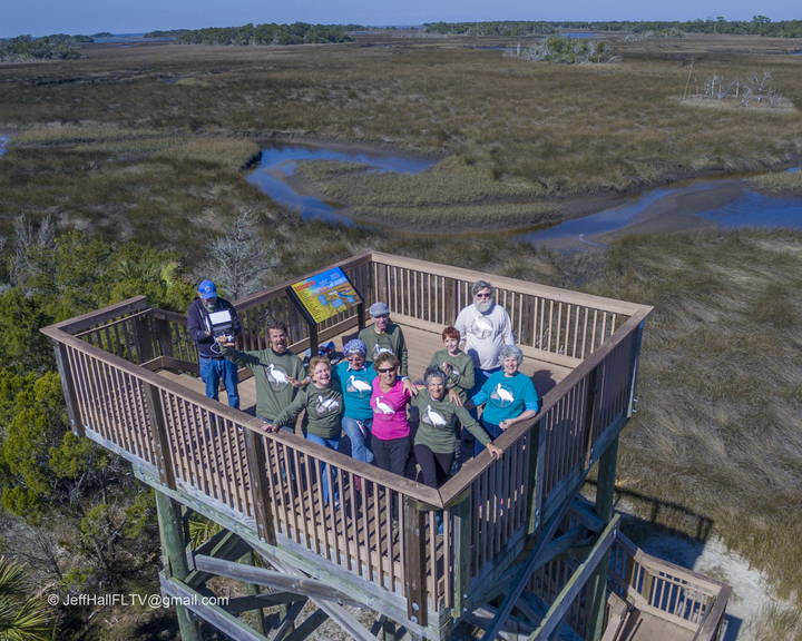 The Wgp Where Our Beautiful Salt Marsh Meets The Gulf Of Mexico T-Shirt Photo