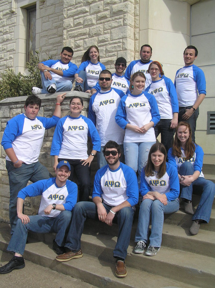 Alpha Psi Omega T-Shirt Photo