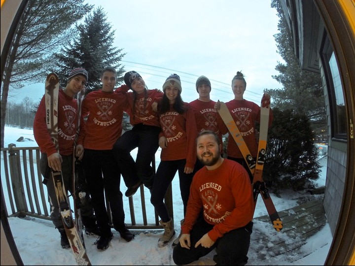 Licensed Apres Ski Instructors T-Shirt Photo