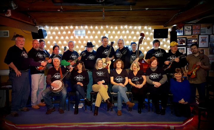 Wsu (Whoever Shows Up) Bluegrass Band T-Shirt Photo