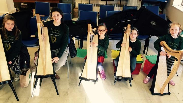 Harp Ensemble  T-Shirt Photo