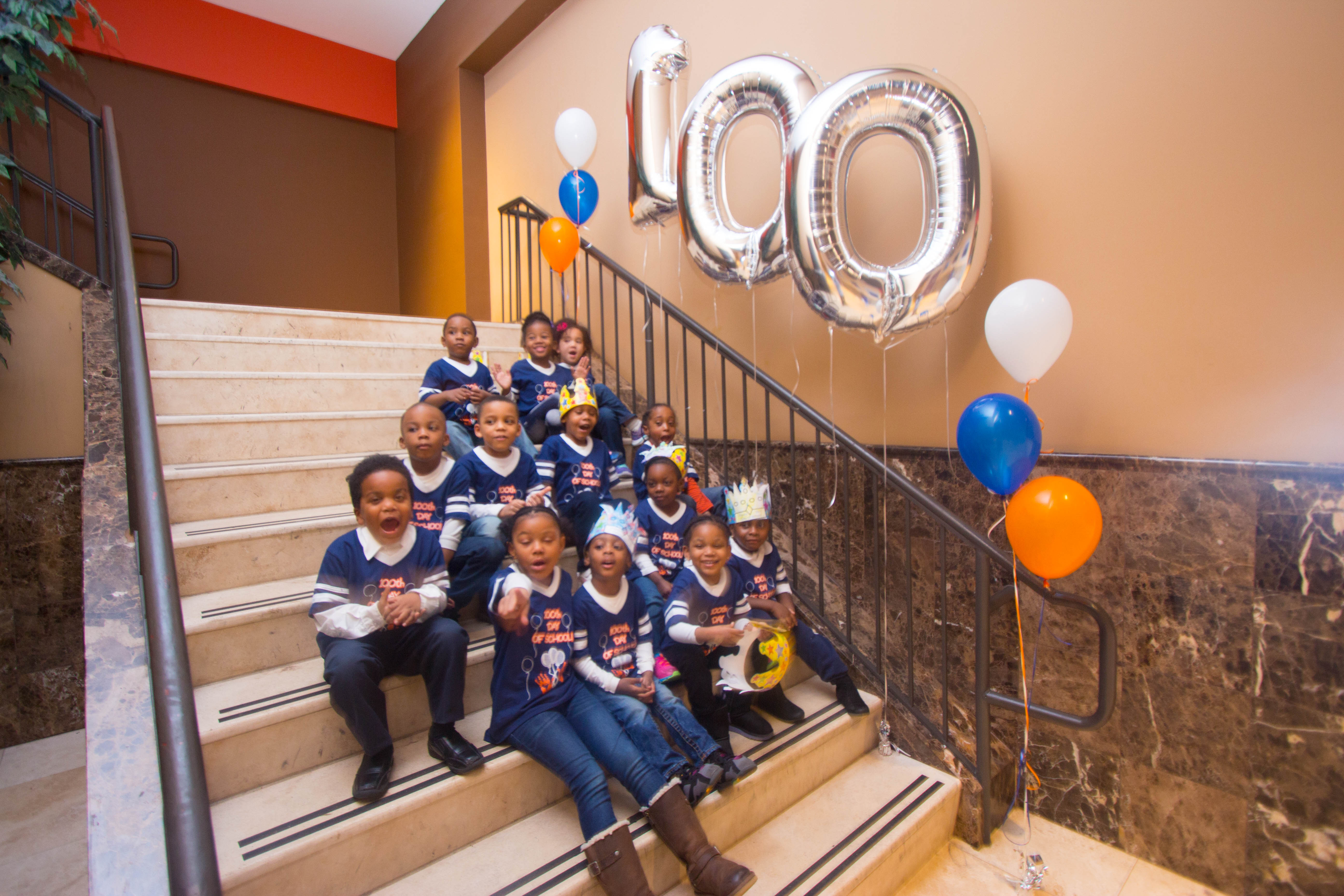School shirt design your own - Christian Cultural Center S Brooklyn Preparatory School Celebrates The 100 Th Day Of School T Shirt