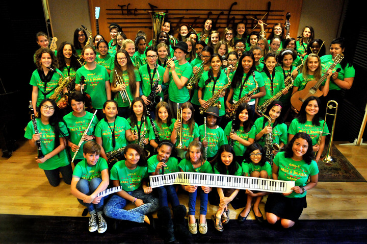 Jazzschool Girls' Jazz & Blues Camp, Berkeley, Ca T-Shirt Photo