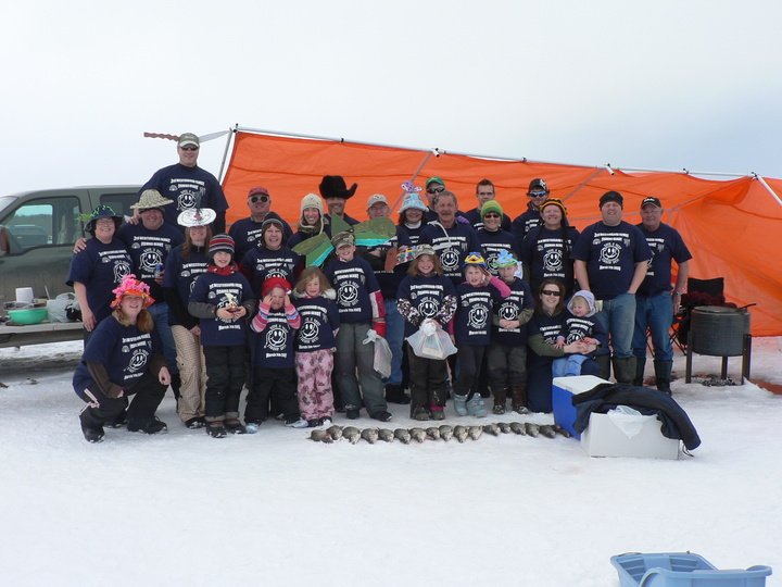 Westergard 3rd Ice Fishing Derby T-Shirt Photo