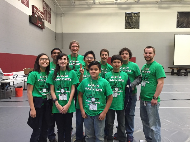Our Team Tied For 1st In Robot Design! The Shirts Helped Add Team Identity And Spirit To The Day!. T-Shirt Photo