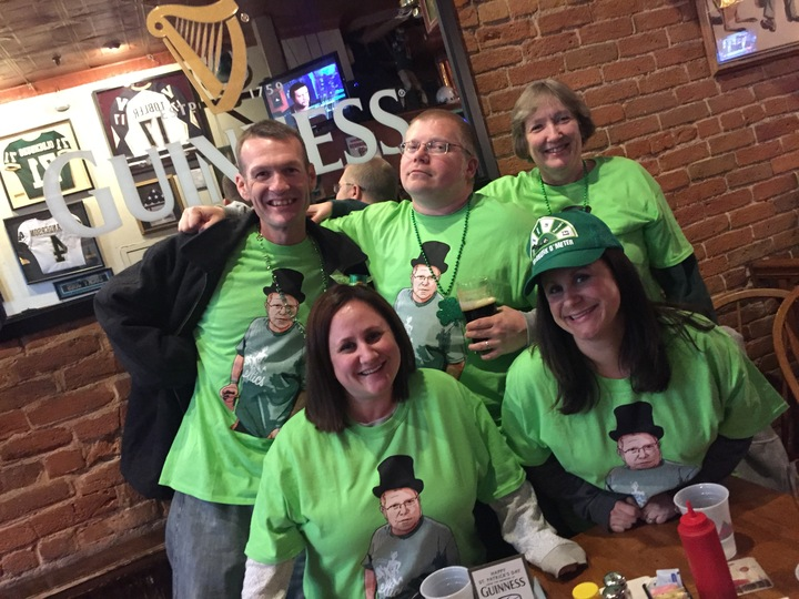 Bill's St Patrick's Day Birthday T-Shirt Photo