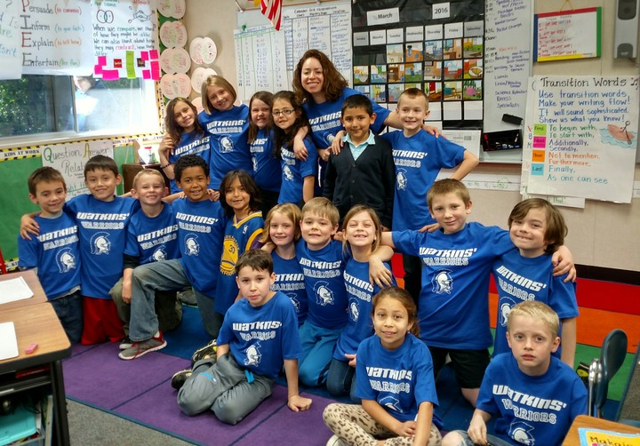 Proudest 2nd Graders! Watkins' Warriors! T-Shirt Photo