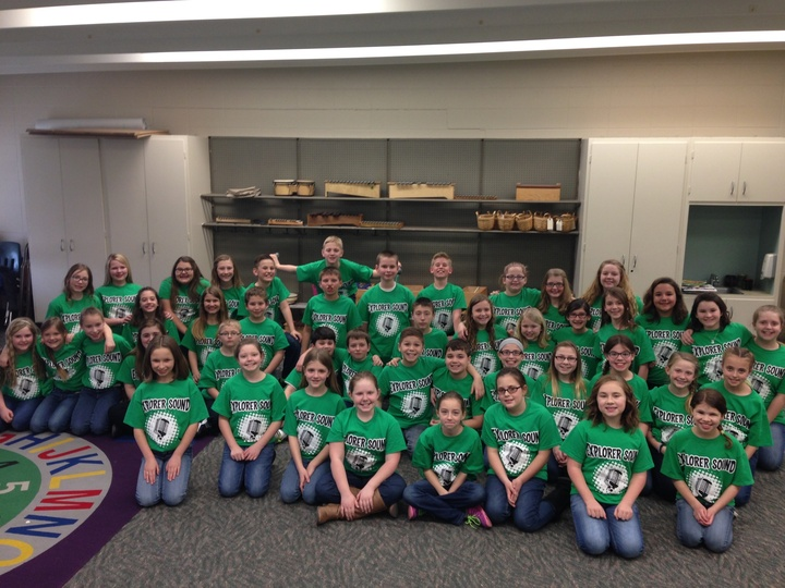 Explorer Sound Choir T-Shirt Photo