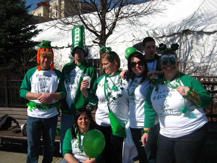 Pub Crawl 2009, Albany Ny T-Shirt Photo