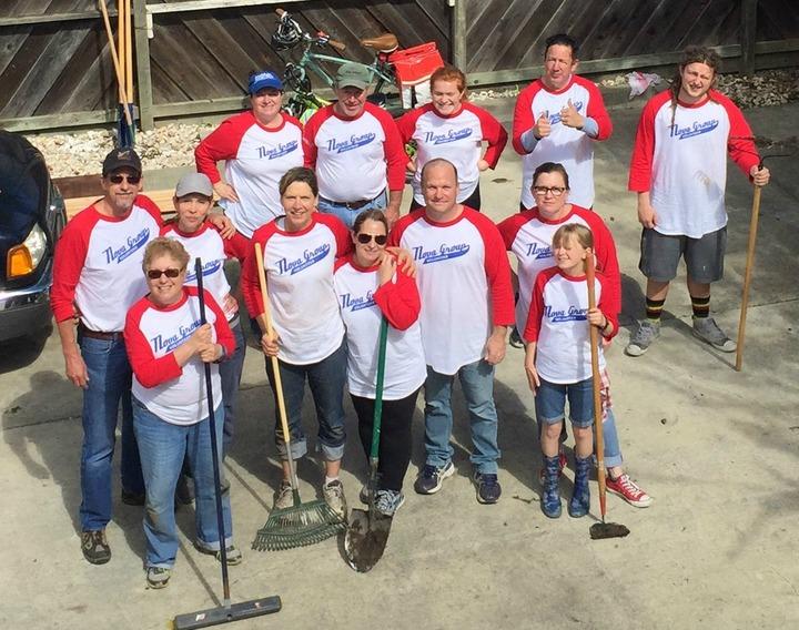 Nova Group Inc Volunteer Team T-Shirt Photo