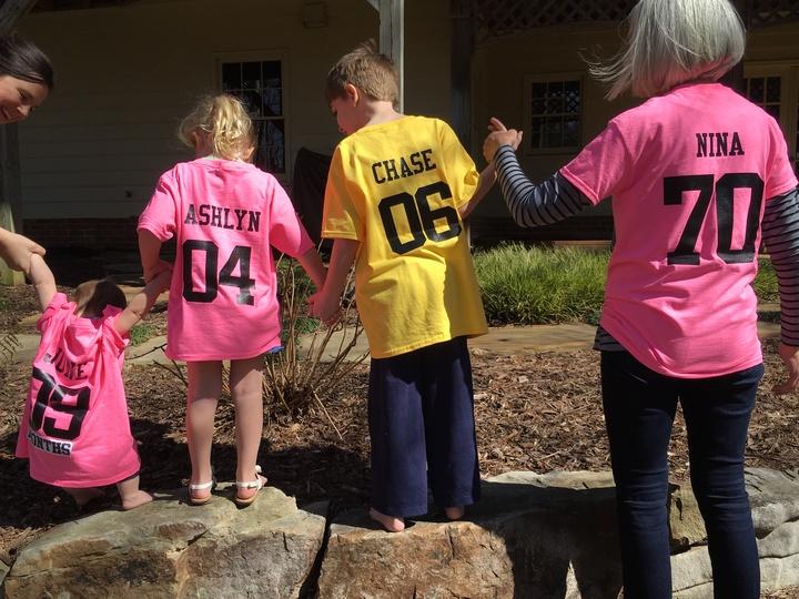 Mom's 70th T-Shirt Photo