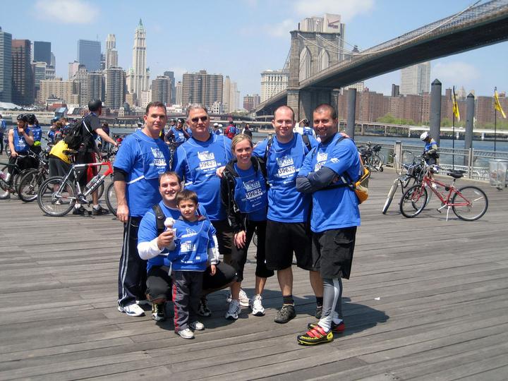 Nyc Bike Tour 2008 T-Shirt Photo
