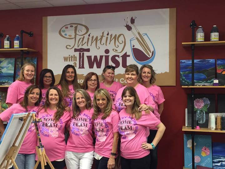 Crazy Moms Painting For A Purpose T-Shirt Photo