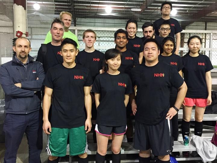 Nhk International Soccer Team T-Shirt Photo