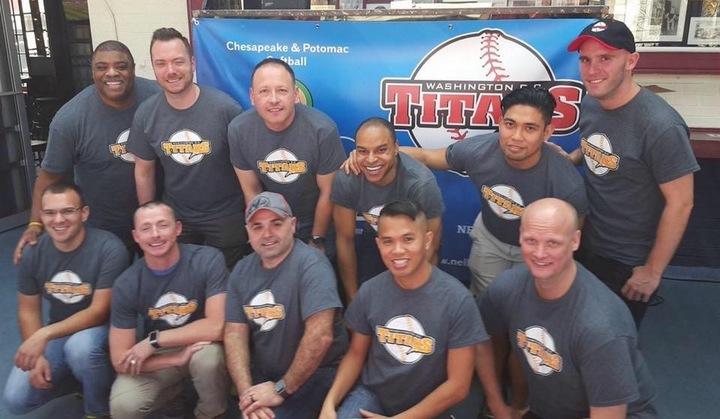 Dc Titans Uniform Party T-Shirt Photo