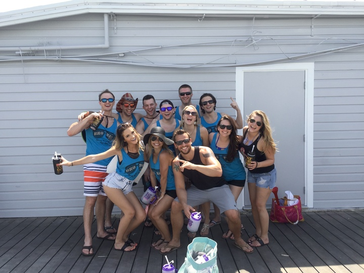 Bro Row Takes On Key West T-Shirt Photo
