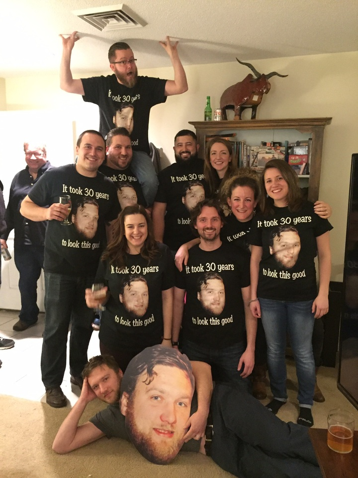 30th Birthday Success! T-Shirt Photo