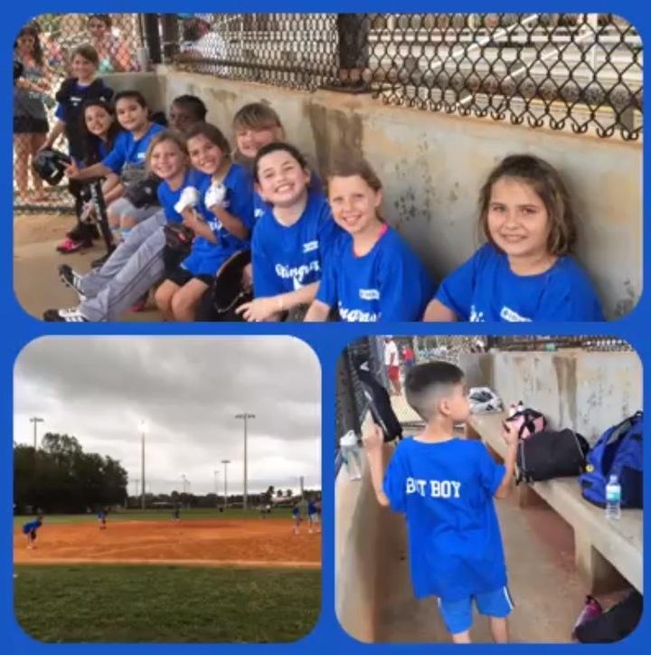 Girls Having Some Softball Fun! T-Shirt Photo