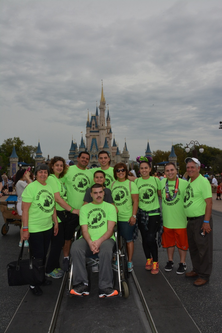 Robert And Alex's Birthday At Walt Disney World T-Shirt Photo