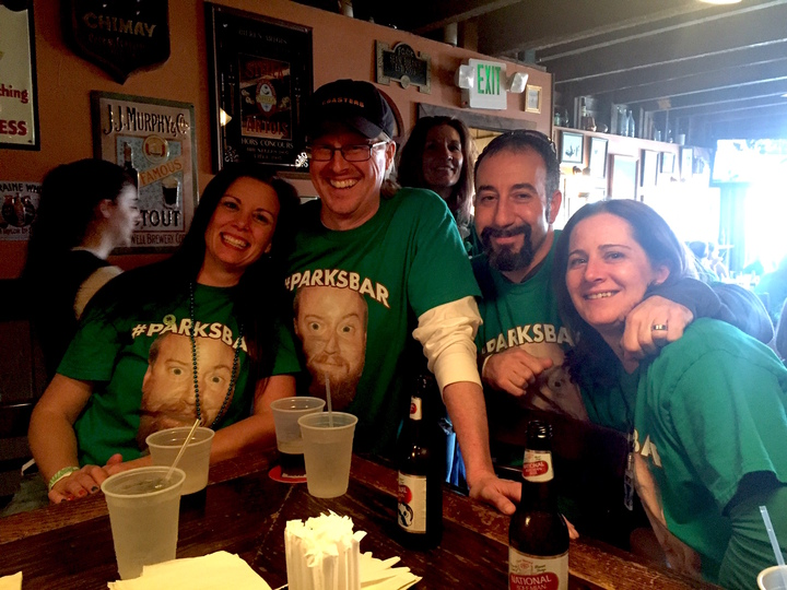 Coasters Crew Representing #Parksbar T-Shirt Photo