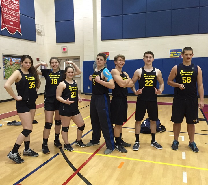 Cyo High School Volleyball #Statebound T-Shirt Photo