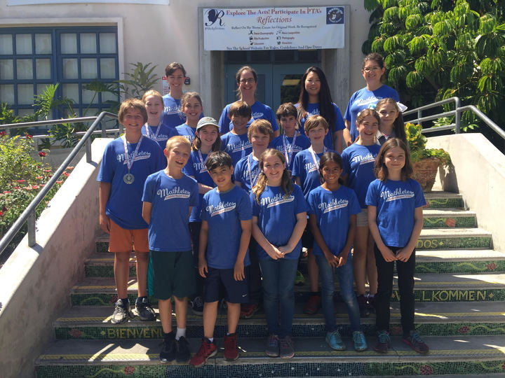 Franklin Magnet School's 2016 Math Field Day Team T-Shirt Photo