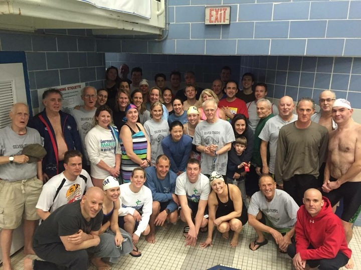 Germantown Masters Swimming Team T-Shirt Photo