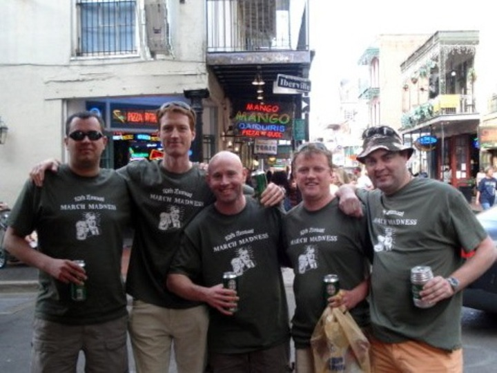 10th Annual Boys' Trip   New Orleans T-Shirt Photo