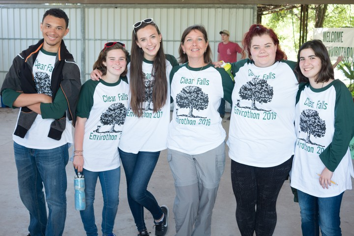Clear Falls High School Envirothon 2016 Team T-Shirt Photo