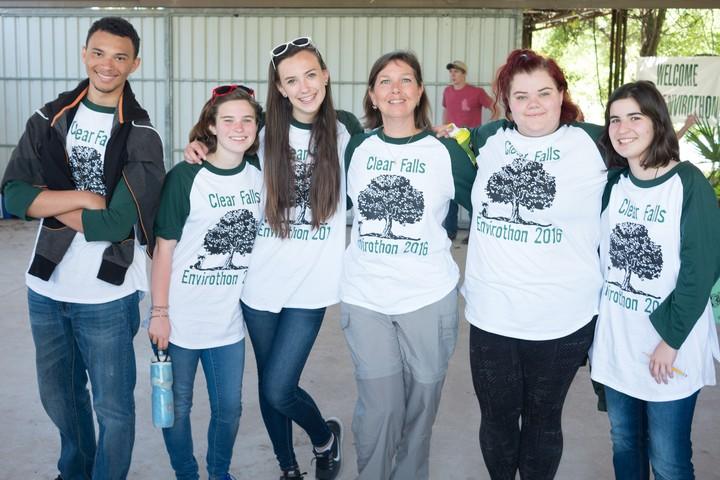 Clear Falls High School Envirothon 2016 Team T-Shirt Photo