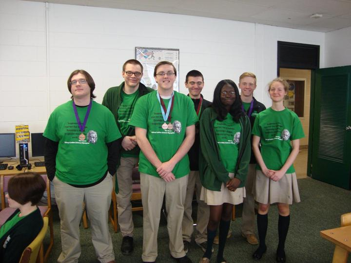 Bishop Ludden Science Olympiad Team Seniors T-Shirt Photo