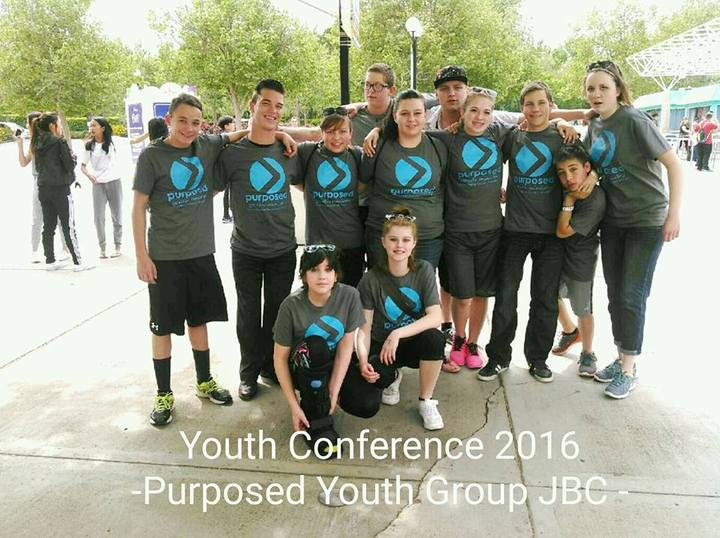 Purposed Youth Group At Youth Group T-Shirt Photo