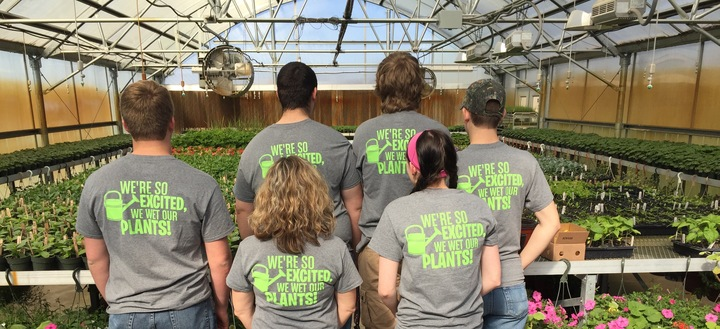 The Back Of The Tri  Valley Horticulture Shirts T-Shirt Photo