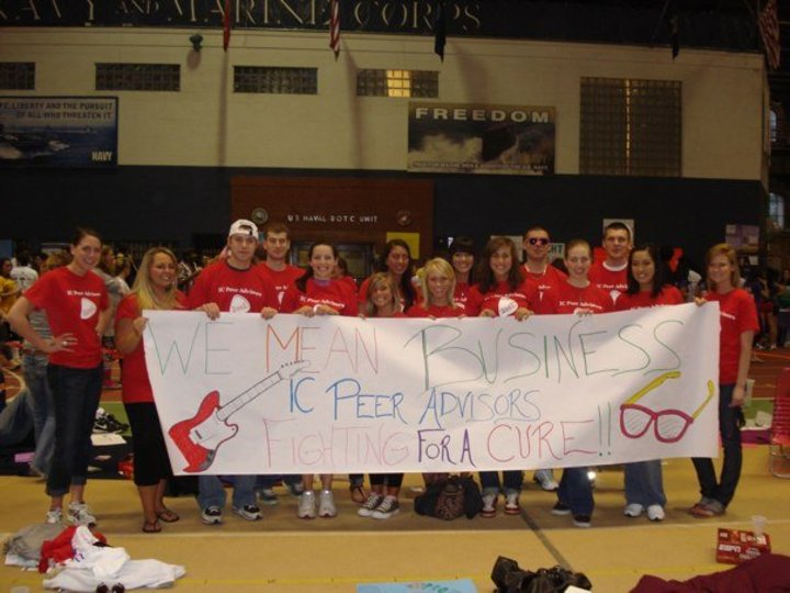 Ithaca College Peer Advisors At Relay For Life T-Shirt Photo